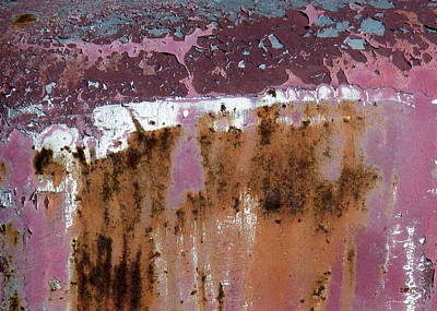 Photograph - Dripping Rust by Carla Parris