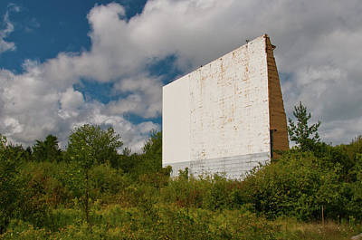 Photograph - Drive-in I - Waiting For Dark by Guy Whiteley