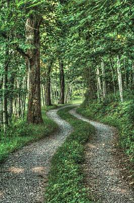 Driveway Out Art Print by Heavens View Photography