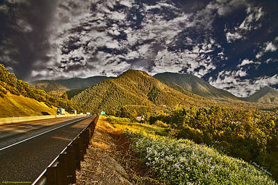 Photograph - Driving Toward A New Sky by Mick Anderson