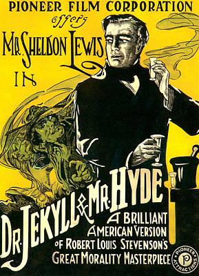 Dr.jekyll & Mr. Hyde, Sheldon Lewis Art Print by Everett