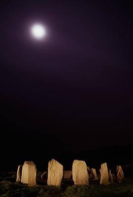 Megalith Photograph - Drombeg Stone Circle, County Cork by Richard Cummins