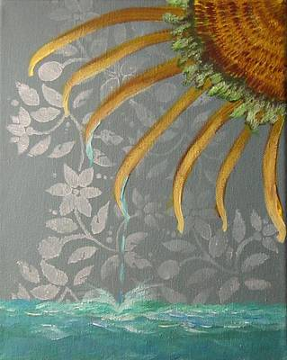 Painting - Drops Of Sun by Jarunee Ward
