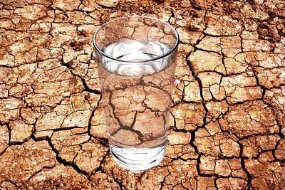 Mud Season Photograph - Drought by Victor De Schwanberg
