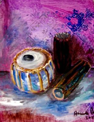 Drums 4 Art Print by Amanda Dinan