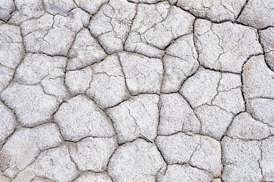 Photograph - Dry And Cracked Ground Pattern by Konrad Wothe