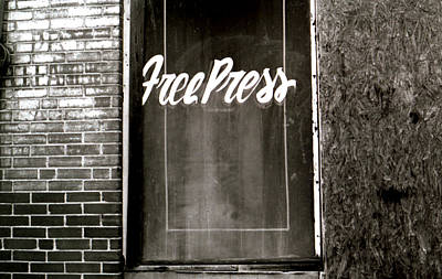 Photograph - Dry Cleaning Free Press by Doug Duffey