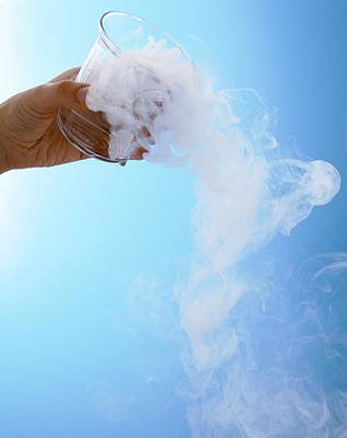 Dry Ice Art Print by Gustoimages