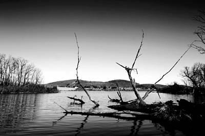 Photograph - Dryden Lake New York by Paul Ge