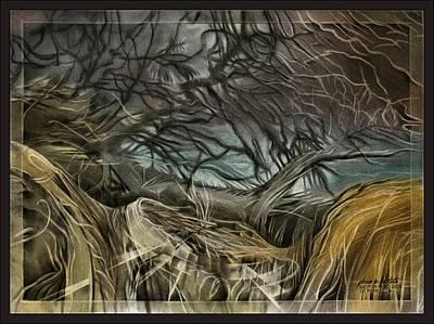 Pastel - Drytreescape 2009 by Glenn Bautista
