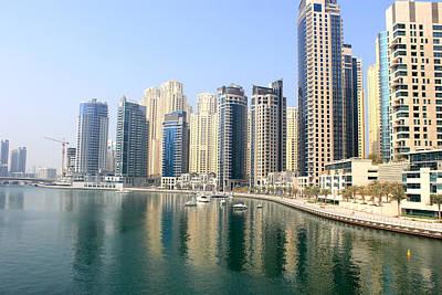 Photograph - Dubai Marina by Radoslav Nedelchev