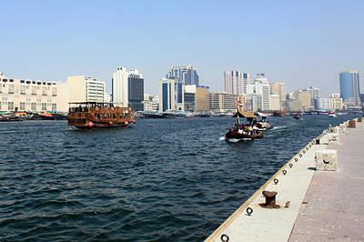 Photograph - Dubai Pier by Munir Alawi