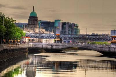 Killkenny Digital Art - Dublin by Barry R Jones Jr