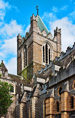 Photograph - Dublin Church by Edward Peterson