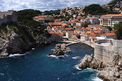 Dubrovnik Croatia Photograph - Dubrovnik By The Sea by Bob Christopher