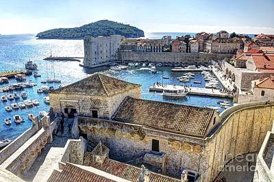 Photograph - Dubrovnik Harbor by Crystal Nederman