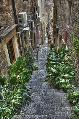 Photograph - Dubrovnik Stairway by Crystal Nederman
