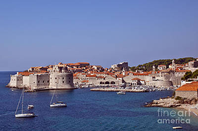 Red Roof Photograph - Dubrovnik View 1 by Madeline Ellis