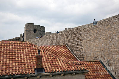 Red Roof Photograph - Dubrovnik View 4 by Madeline Ellis