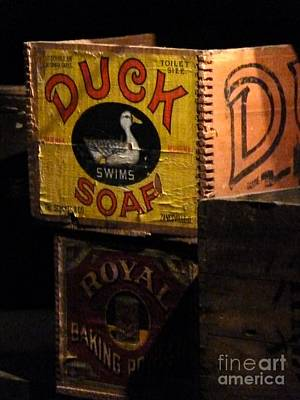 Art Print featuring the photograph Duck Soap by Newel Hunter