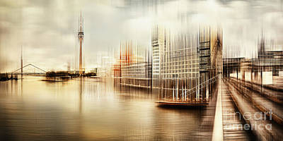 Photograph - Duesseldorf Study 01 by Frank Waechter