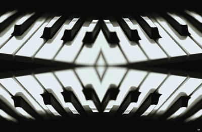 Digital Art - Duet by Maria Watt