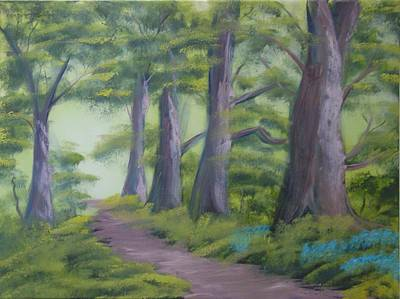 Painting - Duff House Path by Charles and Melisa Morrison