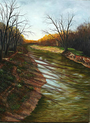 Duffins Creek Ajax Art Print by Sharon Steinhaus