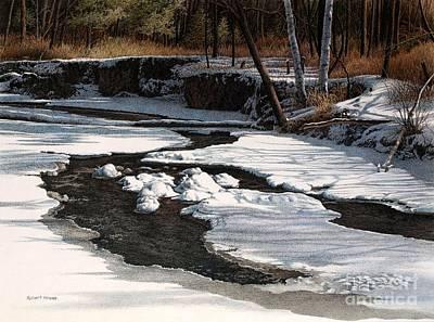 Duffins Creek II Art Print