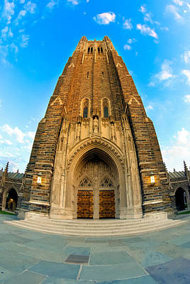 Photograph - Duke Chapel by Gene Hilton