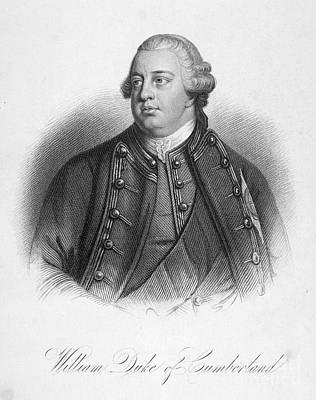 Duke Of Cumberland Art Print by Granger