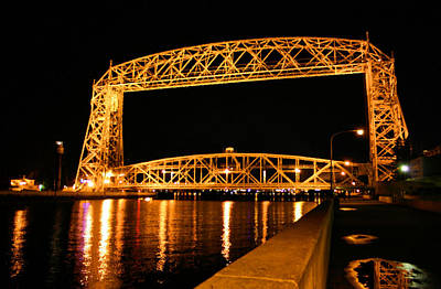 Photograph - Duluth Lift Bridge by Kristin Elmquist