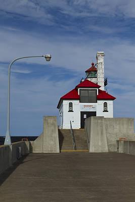 American Milestones - Duluth S Pierhead 24 by John Brueske