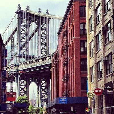 Manhattan Wall Art - Photograph - Dumbo by Randy Lemoine