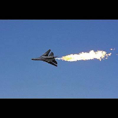 Jet Photograph - Dump & Burn F-111 #dumpandburn #f111 by Avril O