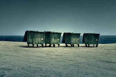 Dumpster Art Print by Joana Kruse