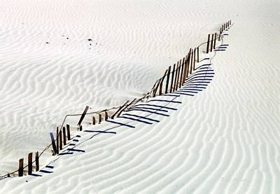 Photograph - Dune Fence by Boyd Miller