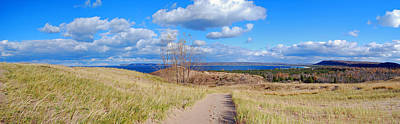 Sleeping Photograph - Dune Path To Glen Arbor by Twenty Two North Photography