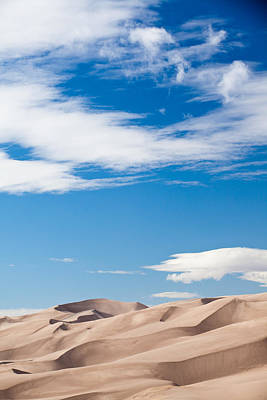 Photograph - Dunes And Sky by Adam Pender