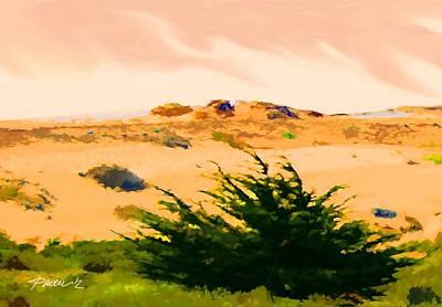 Digital Art - Dunes Iv by Jim Pavelle