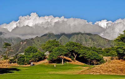 Photograph - Dunes Of Maui Lani Gc 3rd Green by Kirsten Giving