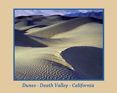 Photograph - Dunes Poster by John Farley