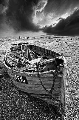 Photograph - Dungeness Decay by Meirion Matthias
