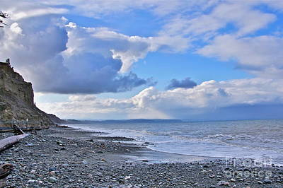 Pucker Up - Dungeness Spit Shoreline by Sean Griffin