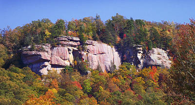 Photograph - Dunn's Rock In The Fall by Duane McCullough