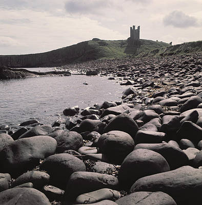 Leaning Building Photograph - Dunstanburgh Castle by Dunstanburgh Castle