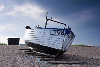 Dunwich Fishing Boat. Art Print by Ian Merton