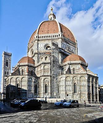 Photograph - Duomo Santa Maria Del Fiore Florence Italy by Gary Eason