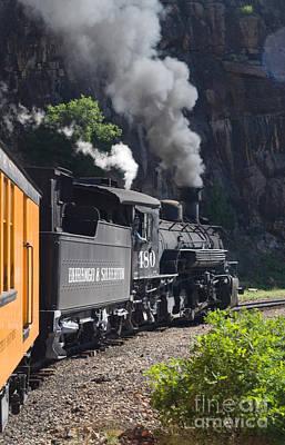 Durango And Silverton Historic Train Art Print by Stuart Wilson and Photo Researchers