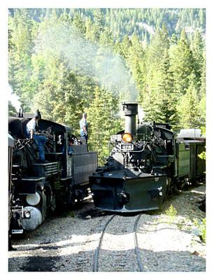 Photograph - Durango Silverton Steam Locomotive by Jack Pumphrey